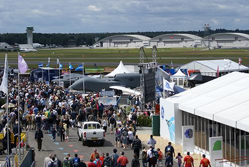 Farnborough Airshow Entrance